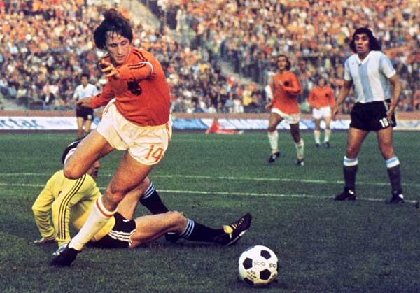 空飛ぶオランダ人 --- ヨハン・クライフ