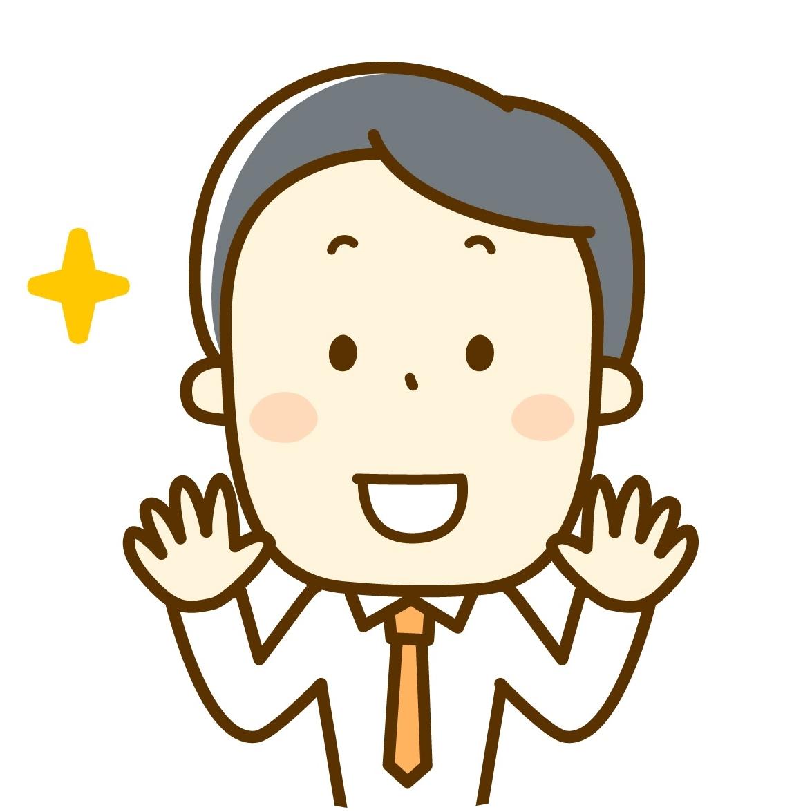 男性-笑顔