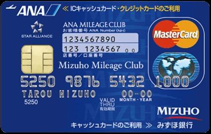 JQみずほルート必須カード! みずほマイレージクラブカード/ANAの申込みとサービス登録方法